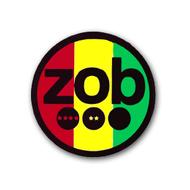 ZOB Glass - Rasta Sticker