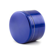 SPLIFF Blue Aluminium Grinder 63mm - 4 part