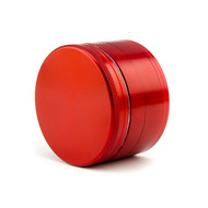 SPLIFF Red Aluminium Grinder 63mm - 4 part
