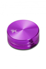 Black Leaf 'Aluminium Grinder 50mm - 2 part Purple