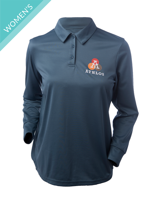 Women's Athlos Polo - Long Sleeve