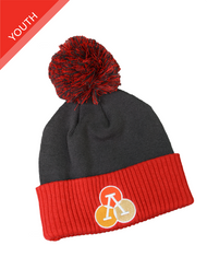 Athlos Youth Beanie With Pom