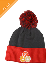 Athlos Adult Beanie with Pom