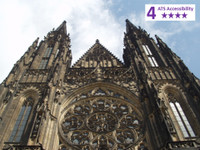 Private Accessible 4 hour Prague Castle Guided Tour