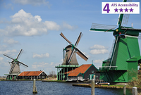 Private Accessible 8 Hour Amsterdam and Beyond Driving Tour