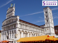 Private Accessible 8 hour Tour to Pisa and Lucca from Florence