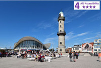 Private Accessible 4 Hour Highlights of Warnemunde and Rostock