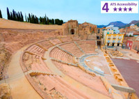 Private Accessible 4 Hour Cartagena Punic Wall and Roman Theatre Tour