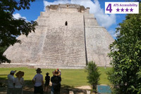 Private Accessible 8 hour Accessible Uxmal Ruins and Cocoa Museum
