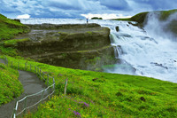 Private Accessible 8 Hour Highlights of Iceland, Spouting Spring and Golden Waterfall Tour
