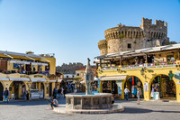 Private Accessible 4.5 Hour Medieval Rhodes and Greek Lindos Tour