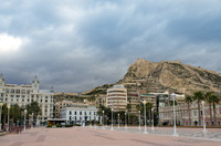 Private Accessible 4 Hour Alicante Old Town, Hogueras Museum and St. Barbara's Castle Tour