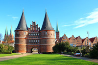 Private Accessible 4.5 Hour Medieval Lubeck, St. Mary's Church and Marzipan  Tour