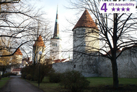 Private Accessible 4 hour Tallinn Guided Tour