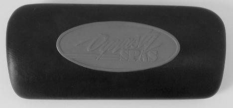 Dynasty Pillow, two-tone, back pin for lounger.  (Should have 25704-204 on back)