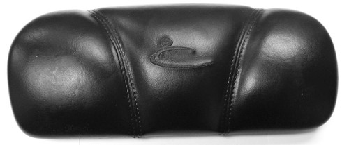 Black lounger pillow, stitched for dynasty spas hot tubs, old headrest may have number 1869 on back.
