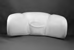 14516, Pillow, Neck, White, Stitched, 2009