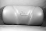 14524, Pillow, Lounger, Light Gray, Stitched, 2009