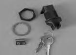 11094-Enclosure, Stereo, Latch w/Key, Knob
