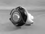 13073, Valve, 100% Shut-Off, LED, 3/4 sb x 1 spg, Trix Style, Black