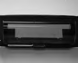 11110-Enclosure, Stereo, Cover, Black ABS, UV Coated