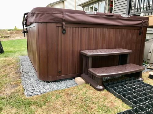 Handy grid Hot Tub Bases