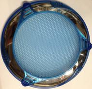 """14643-Stereo, Speaker Cover, 2011, Custom, SS, BL Blue, 6"""" Speaker"""