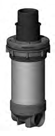 10687, Filter Assembly, Dyna-Flo, 2 Weir, 5 Scallop, Smooth Face, 40 Sq. ft. (Protype), Black