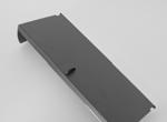 11592, Filter Part, Weir Door, Gray