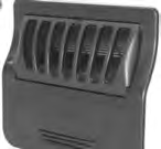 12842, Filter Assembly, 2009, Skimmer / Weir / Grill /Basket / Black w/Mounting Hardware