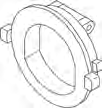 10336, Filter Part, Front Access Skim, Bypass Valve, 2""