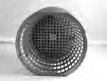 10792, Filter Part, Rainbow DFM, Series, Pentair, Basket w/Restrictor Assembly, Gray