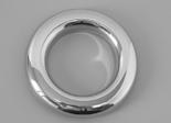 10189, Jet Trim, Stainless Steel, Euro