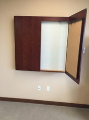 Paoli Conference Room Markerboar Cabinet