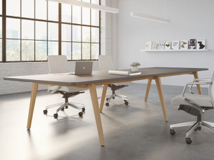 OFS Eleven Wood Conference Tables