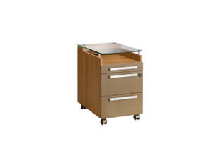 Gautier Sliver - 3 Drawers Unit On Castors
