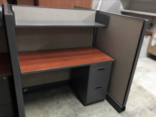 "(PO-SYS-0001) Friant Telemarketing Cubicles 48""W x 24""D"