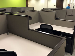 (PO-SYS-0010) Allsteel Cubicle Workstations - 6' x 5'