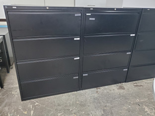 (PO-F-0001) 4 Drawer Lateral File Cabinets