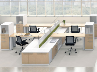 Friant Dash-Interra Integrated Office Cubicles & Workstations