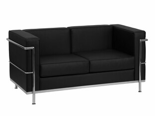 Patriarch Love Seat Black