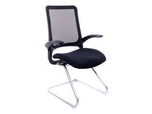 OFW Aprilia Black Guest Chair