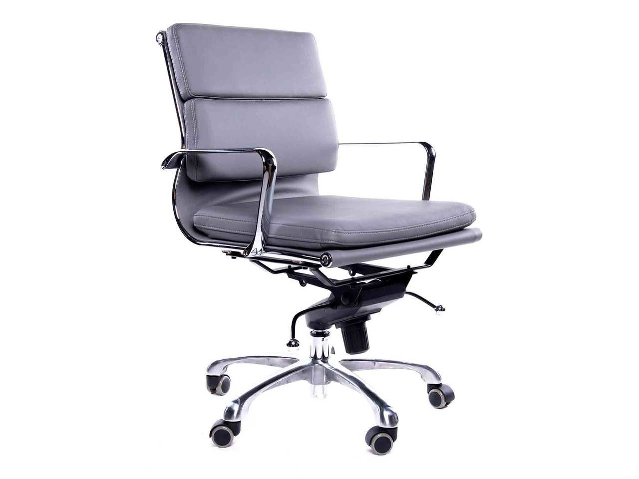 Amazing Ofw Bari Mb Executive Chair Gray Office Furniture Warehouse Pabps2019 Chair Design Images Pabps2019Com
