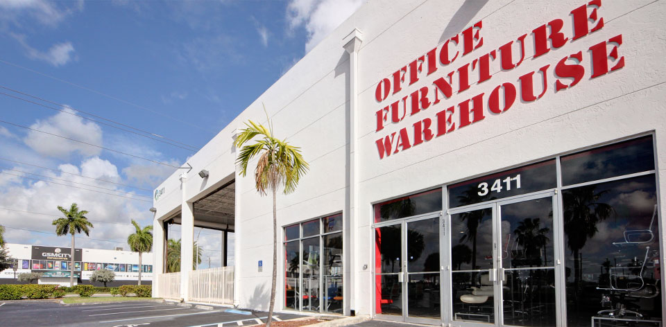 Virtual Tour of Miami Office Furniture Store