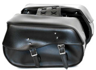 "16"" W x 18"" H WATERPROOF SADDLEBAGS 2PC - D33"