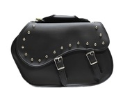 "16"" W x 11"" H STUDDED SADDLEBAGS SET - D42"