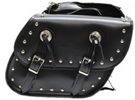"14.5"" W x 10"" H WATERPROOF STUDDED SADDLEBAGS w/ CONCHO - D45"