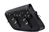SINGLE SIDED STUDDED SWING ARM SOLO BAG - D51