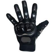 MOTORCYCLE PRO-BIKER CARBON FIBER VENTED GLOVES - D68