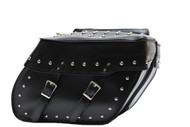 "16"" W x 11"" H MOTORCYCLE WATERPROOF STUDDED SADDLEBAGS - DA10"